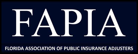 Member of FAPIA, Florida Association of Public Adjusters